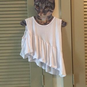ONE COLD SHOULDER TANK !